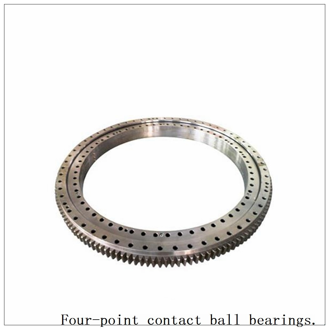 Single-Row Non-Gear Four Point Contact Ball Slewing Bearing 9o-1b22-0163-1038