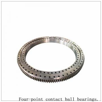 Single Row Four-Point Angular Contact Slewing Bearing Non-Gear