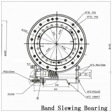 Light Type Ball Slewing Ring Bearing 060