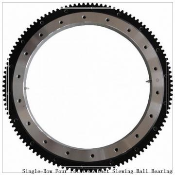 Single-Row Four Point Contact Ball Slewing Bearing External Gear 9e-1b25-0421-0869