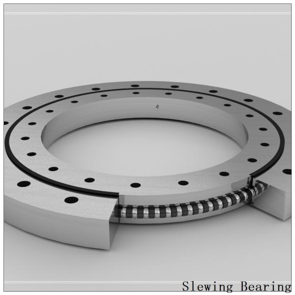 Single-Row Crossed Roller Slewing Bearing Non-Gear 9o-1z14-0300-0378 #2 image
