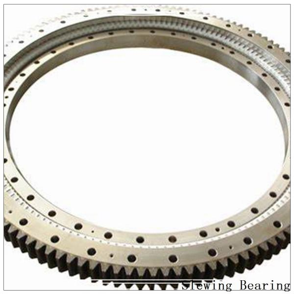 Single-Row Four Point Contact Ball Slewing Bearing External Gear 9e-1b25-0422-0354 #2 image