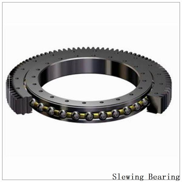 Single-Row Crossed Roller Slewing Bearing Non-Gear 9o-1z14-0222-1026-1 #2 image