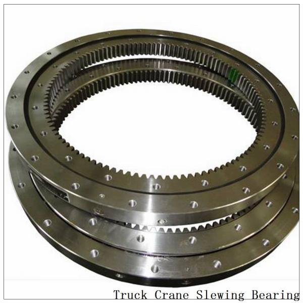 Factory Manufacture Trailer Parts Double Ball Slewing Bearing Rings Turntable #2 image