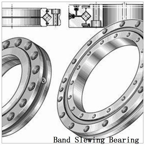 Double-Row Four Point Angular Contact Slewing Ball Bearing External Gear #2 image
