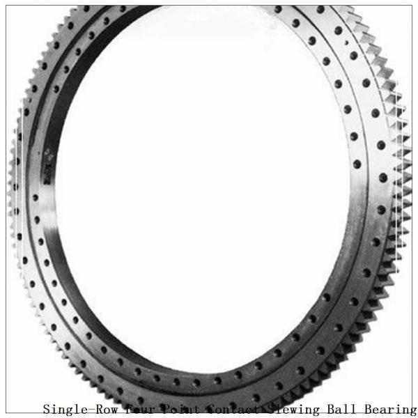 Four-Point Non-Gear Single-Row Contact Ball Slewing Bearing 9o-1b20-0289-0295-1 #1 image