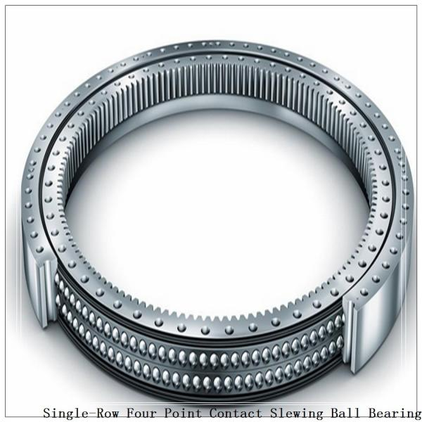 Four-Point Non-Gear Single-Row Contact Ball Slewing Bearing 9o-1b20-0289-0295-5 #1 image
