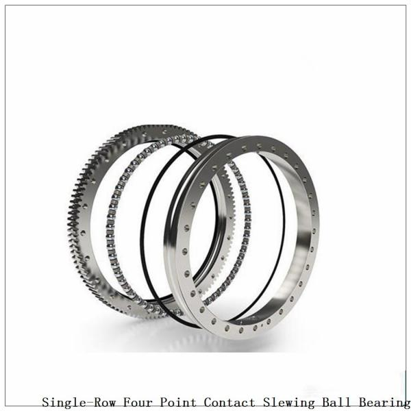 Four-Point Non-Gear Single-Row Contact Ball Slewing Bearing 9o-1b20-0289-0295-5 #3 image