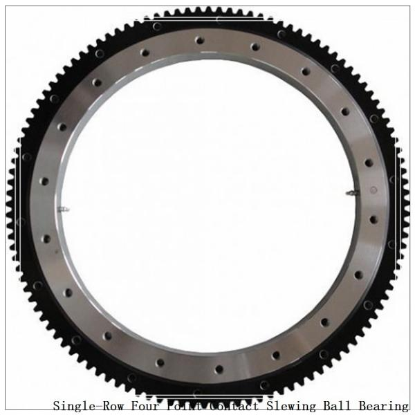 Single-Row Four Point Contact Slewing Ball Bearing with Internal Gear 9I-1b25-0550-0743 #1 image
