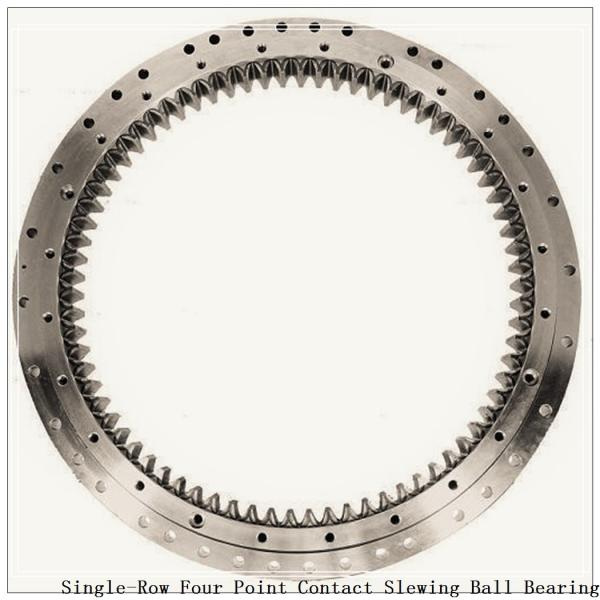 Four-Point Non-Gear Single-Row Contact Ball Slewing Bearing 9o-1b20-0289-0295-5 #2 image